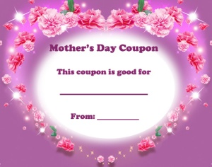 Mother's Day Coupon 3